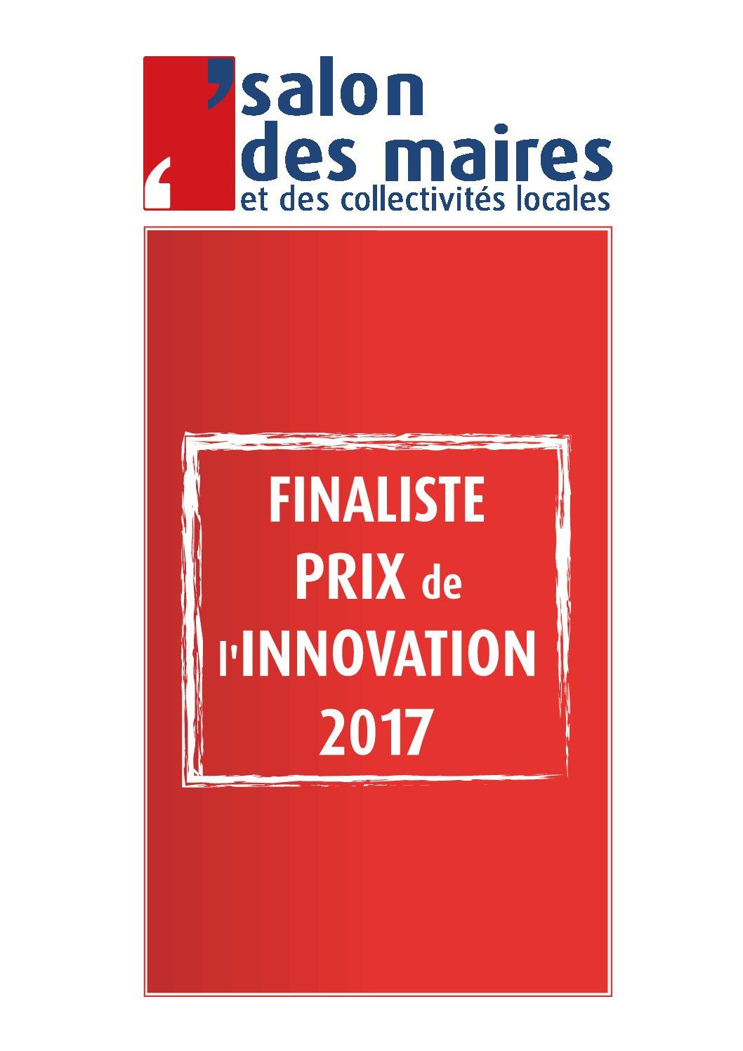 Finaliste prix de l 39 innovation 2017 du salon des maires - Salon des maires et des collectivites locales ...